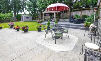 stamped concrete patio Maryland
