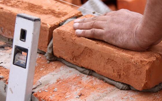 brick stamped concrete patio