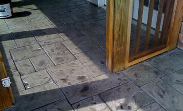 stamped concrete patio contractors near me