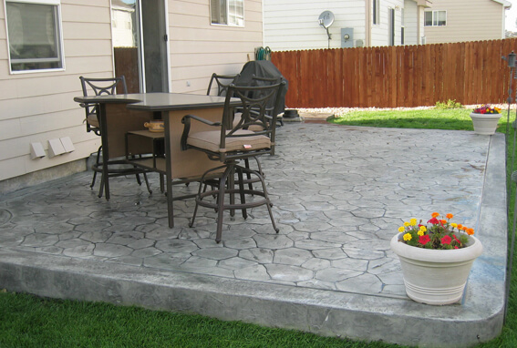 stamped concrete overlay Maryland