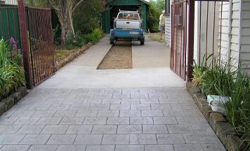 concrete walkways